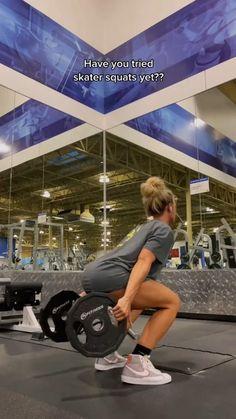 Leg And Glute Workout, Slim Waist Workout, Gym Workout Videos, Easy Workouts, Glute Workouts, Fitness Goals, Fitness Motivation, Health Fitness, Squat Challenge
