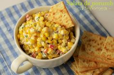 Salata de porumb cu telemea - Retete culinare by Teo's Kitchen
