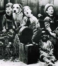 "Little Rascals   ""... began in 1922 as a series of silent short subjects...after converting to sound in 1929...  continued at the Roach studio until 1938... series was sold to MGM... which produced [Rascals]...1944. In total, the Our Gang series includes 220 shorts and one feature film...featuring over 41 child actors. As MGM retained the rights to the Our Gang trademark... the 80 Roach-produced ""talkies"" ....syndicated [ T.V.] under the title The Little Rascals...1955."" Wikipedia.com"