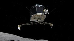 The European Space Agency has just announced in a series of tweets that it has regained contact with the Philae lander and is receiving data from the surface of comet 67P/Churyumov–Gerasimenko. The...
