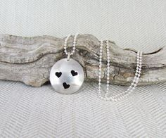 Sterling Silver Essential Oil Necklace with by QuietTimeJewelry, $74.75