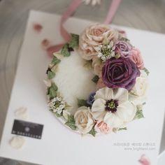 브라이트앤 플라워케이크  Brightand Flower ricecake  www.brightand.com