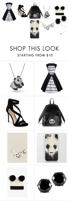 """panda bears"" by getjinxed205 on Polyvore featuring Bling Jewelry, Imagine by Vince Camuto, Les Petits Joueurs, OK Originals, Monki, West Coast Jewelry and Bao Bao Wan"