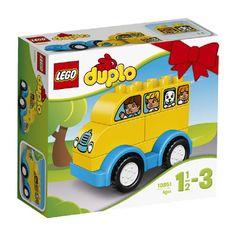 LEGO DUPLO mijn eerste bus 10851 Met deze LEGO Duplo-set bouwt je kleine buschauffeur zijn of haar eerste schoolbus en rijdt er heerlijk mee rond. LEGO-nr. 10851 EUR 5.99 Meer informatie