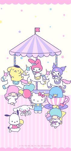 My Melody Wallpaper, Sanrio Wallpaper, Hello Kitty Wallpaper, Cute Wallpapers, Iphone Wallpapers, Little Twin Stars, Kawaii, Fictional Characters, Lovers