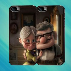 Carl and Ellie Kisses Custom Case iPhone CaseSamsung by Mendemdupo, $31.99