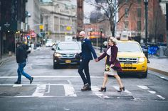 Angie & Seth's NYC Elopement, With a Katz's Deli Reception for Two