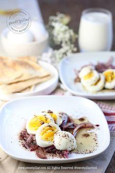 Amazing Eggs in Sumac Onion Dressing — Sweet Pillar™