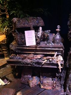 Flying Dutchman props from Pirates of the Caribbean 3