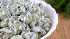 Диетический овощной салат незаменим для дам, которые с приходом весны придерживаются правильного питания.