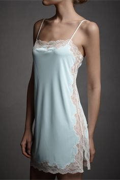 Aerial Chemise from BHLDN  http://www.bhldn.com/shop_bridesmaids-partygoers_lingerie/   So cute vintage lingerie, wish I were a size 2 and Rich!