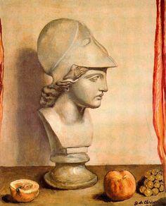 GIORGIO DE CHIRICO Bust of Minerva