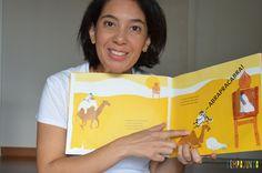 Brincar de leitura estimula o gosto pelos livros - Neste post, tem dicas para ler para os bebês e as crianças!