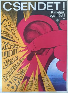 Csendet! Kíméljük egymást! 1972 | Plakát galéria