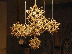 Holiday Crafts, Chandelier, Ceiling Lights, Star, Home Decor, Xmas, Dios, Candelabra, Decoration Home