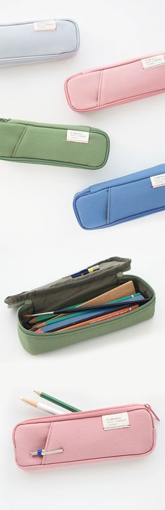 Your pens and pencils deserve a special place of their own, too. Bonus if it's cute and lovely like the A Low Hill Pocket Pencil Pouch!