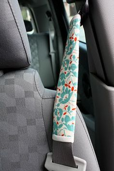 seatbelt covers tutorial