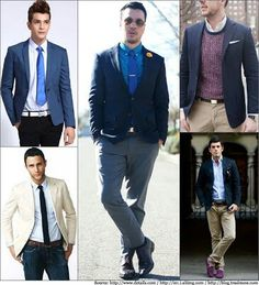 Top 3 Different Styles of Trendy Blazers for Men Business Casual Attire For Men, Smart Casual Menswear, Dress For Success, Blazers For Men, Stylish Men, Mens Suits, Different Styles, Job Search, Outfits