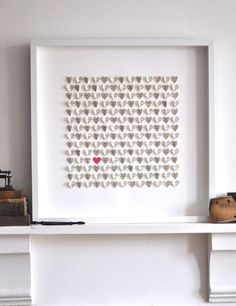 Image of Little Vintage Hearts - Pride and Prejudice-Large