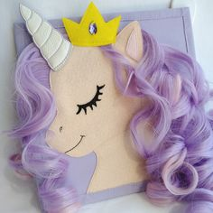 Pony unicorn busy book page /Educational travel toy /Cute quiet book PAGE /Educational kids gift /Sensory busy toy /Activity Montessori page, to share the latest addition to my shop Toddler Gifts, Gifts For Kids, Toys For Girls, Kids Toys, Felt Doll House, Baby Quiet Book, Quiet Books, Quiet Book Patterns, Travel Toys
