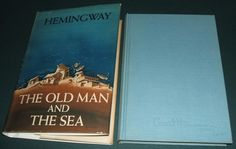 The Old Man and The Sea by Ernest Hemingway 1st in Dust Jacket 1st Issue of both