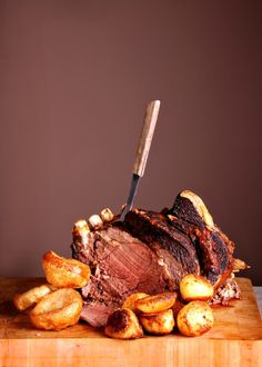 Sunday Dinner – Roast Beef and Yorkshire Puddings what could be nicer....mmmmm