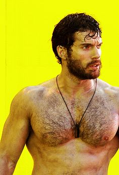 Henry Cavill is a Greek God