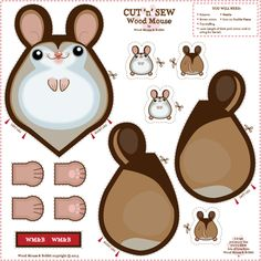 Wood_Mouse fabric by woodmouse
