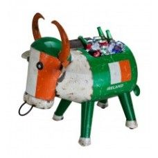 Ireland Rugby Football Drinks Cooler Ideal Gift Present Garden Ornament XMAS Unusual Christmas Gifts, Christmas Ornaments, Xmas, Furniture Market, Garden Furniture, Metal Garden Ornaments, Ireland Rugby, Bucket Gardening, Contract Furniture