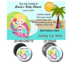 15 magnets35 magnetsurfer baby shower by buttonpinsandmagnets 15 magnets35 magnetsurfer baby shower by buttonpinsandmagnets party planning craft ideas pinterest hawaiian baby showers girl birthday and magnets filmwisefo