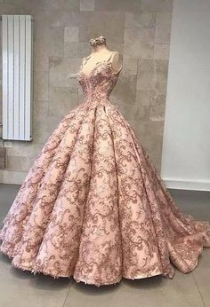 Custom Wedding Dresses and Bridal Gowns from The USA Ball Gown Dresses, 15 Dresses, Elegant Dresses, Fashion Dresses, Pink Ball Gowns, Pink Formal Dresses, Red Gowns, Pretty Outfits, Pretty Dresses