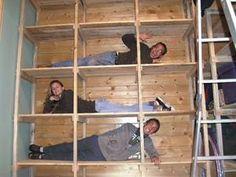 How to make basement storage shelves