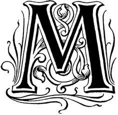 différents monogrames à télécharger et imprimer Free