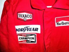 Size 38 T 2 Marlboro Racing Crew CHAMPION Pilot Suit TEXACO GOOD YEAR