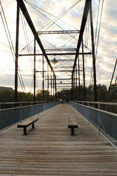 Faust Bridge in New Braunfels