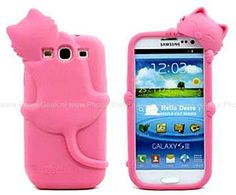 Samsung Galaxy S3 Schattig Diffie Cat #telefoonhoesjes #hoesjes #hoesje #accessoire #phone #cases