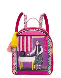 Rucsac Pink Lana, Lunch Box, Backpacks, Amazing Things, Shopping, Design, Totes, Bento Box