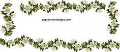 chambeeli flowers border designs 2016