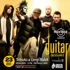 "Hard Rock Cafe Caracas presenta: ""Guitar Sessions – Tributo a Limp Bizkit"" http://crestametalica.com/events/hard-rock-cafe-caracas-presenta-guitar-sessions-tributo-a-limp-bizkit/ vía @crestametalica"