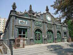 Old Mosque, Hohhot, Inner Mongolia, China   Flickr - Photo Sharing!