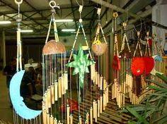 Como fazer artesanato em bambu.
