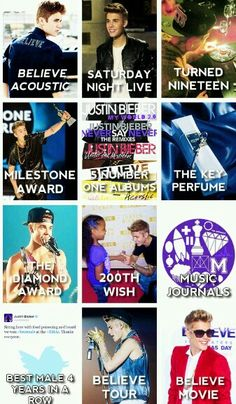 Some of the best things that happened during 2013 with Justin and Beliebers Love You So Much, I Love Him, Love Of My Life, My Love, All About Justin Bieber, He Is My Everything, Paris Jackson, Reasons To Live, All That Matters