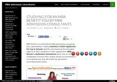 mba admission essays help
