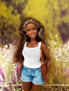 Black Barbie, Barbie World, Barbie And Ken, Doll Crafts, Barbie Clothes, Beautiful Dolls, Fashion Dolls, Afro, Exotic
