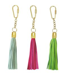 Blair Ritchey Tassel Keychain  Total length: 7.5 inches    Each keychain is made to order and will take 5 days to be prepared to ship.    Please note the color may vary compared to what is depicted on your monitor. Swatches available upon request.      Quantity               ← PrevNext →