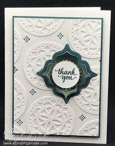 Stampin' Up! Eastern Beauty Card by Shelly Godby of www.stampingsmiles.com