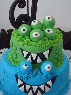 OLLIE SABORES Y COLORES: Monstruos!!!