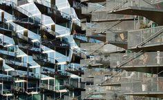 Copenhagen, Denmark  The balcony design was meant to encourage socializing.  Photos: JDS Architects