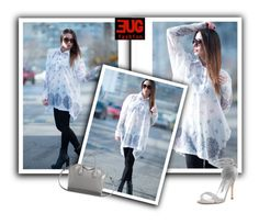 """""""NEW COLLECTION White Cotton Loose Shirt by EUGfashion"""" by eug-fashion ❤ liked on Polyvore featuring Givenchy, Manolo Blahnik and EUGfashion"""