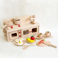 97963+ お買い得 ミニキッチンセットプラス 【Wooden toys 木製おもちゃのだいわ】 好評!木のおもちゃのおままごとセットオリジナル 【送料無料】【出産祝い】